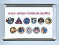 NASA Apollo Program Insignia fridge magnet